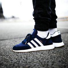 innovative design 75dbb 2c834 Newest Adidas Running Shoes adidas Iniki Runner Boost Navy Gum 2017 UK  Trainers