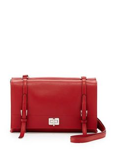 PRADA Lux Calfskin Shoulder Bag