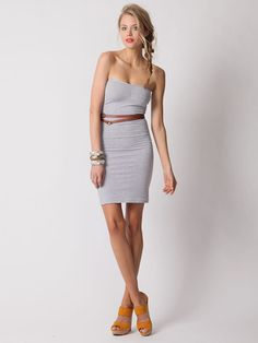 Just bought this American Apparel dress on Gilt Groupe for 16.00. I think it will be a good layering piece for spring and summer.