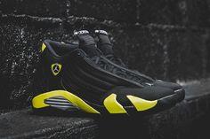 #AirJordan XIV Thunder #sneakers