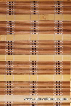 Bamboo Blinds - Design No 40