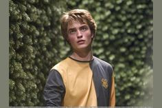 Pattinson as Cedric Diggory in Harry Potter and the Goblet of Fire. Harry Potter Haus Quiz, Harry Potter Casas, Harry Potter Pictures, Harry Potter Universal, Which Hogwarts House, Hogwarts Houses, Robert Pattinson, Harry Potter Lufa Lufa, Harry Potter References