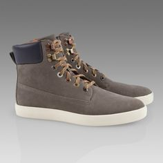 Paul Smith Shoes | Grey Blackout Boot