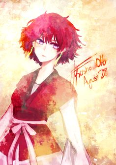 Akatsuki no Yona / Yona of the dawn anime and manga || Yona. Creds to artist