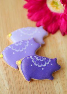 展示用アイシングクッキーの画像   おうちパティシエへの一本道