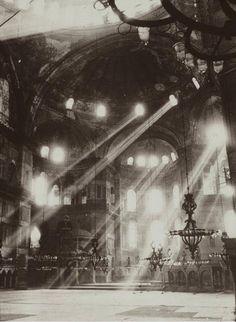 Hagia Sophia, Istanbul, 1954