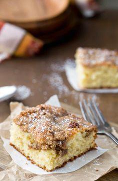 Cinnamon Streusel Sour Cream Coffee Cake Recipe