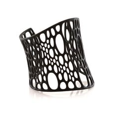 Subdivision+Cuff+3D+printed+nylon+by+nervoussystem+on+Etsy,+$60.00