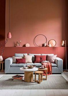 Colores Para Salas 2018 Modernos 40 Fotos De Combinaciones Perfectas |  Brico Y Deco