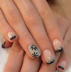 Christmas Nails – Nail Art For Christmas Ideas 52 – Fiveno Christmas Manicure, Xmas Nails, Holiday Nails, Diy Nails, Cute Nails, Pretty Nails, Disney Christmas Nails, Christmas Nail Art Designs, Best Nail Art Designs