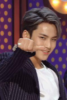 """7teans: """" """"mansae // mingyu """" """" ♡^▽^♡"""