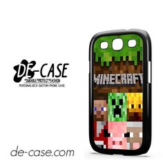 Minecraft Character DEAL-7263 Samsung Phonecase Cover For Samsung Galaxy S3 / S3 Mini