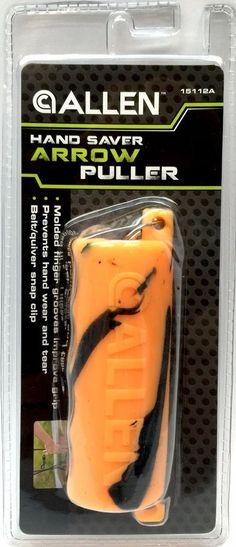 Archery Tools Aggressive Easton Arrow Puller Puck Single Orange Accessories