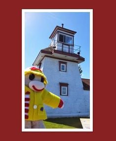 Are you a lighthouse lover? So is our sock monkey Sammy Sambro! He is going to visit 100 lighthouses in Nova Scotia. Check out his blog...  http://100nslights.blogspot.ca/   You can also follow Sammy on Twitter & Facebook!