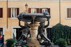 Unexpected Rome: The Turtle Fountain