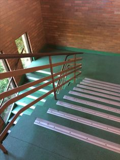 Physical level: This is how MLC uses their land. Stairs are implemented for students to get to and from class. Walking on the stairs is an example of physical activity.