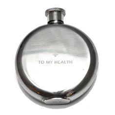 To My Health 3 oz. Flask