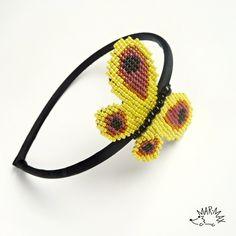Headband - motýl