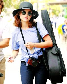 Jenna Coleman out and about in New York City - 14 July 2016