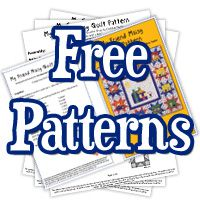TONS of FREE quilt patterns...UNbelievable!!