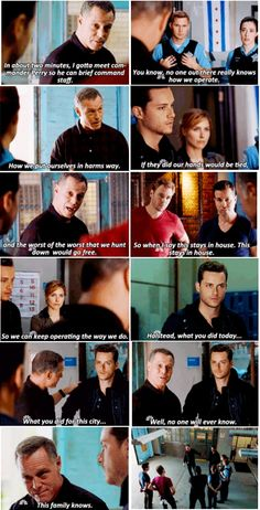 Chicago PD ♥ Ughhhh the family feels~ ♡.♡