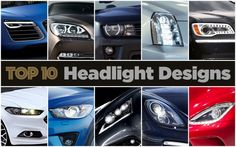 Top 10 New Car Headlight Designs