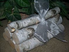 Hey, I found this really awesome Etsy listing at http://www.etsy.com/listing/120439687/5-birch-logs-for-home-decor-rustic