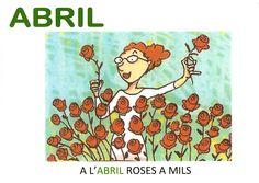 Dita ABRIL P5 Valencia, Comics, Rose, Planners, School, Sayings, Calendar, Classroom, Spring