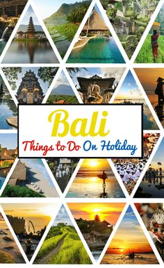 Thing to do Bali, Things to do in Bali