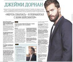 JAMIE DORNAN,  Actor: Jamie -   METRO -Moscú