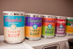 Campbell soup printable labels for toy kitchen