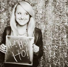 Chloe Moore Photography // The Blog: Santa Dubstep Holiday Party Photobooth