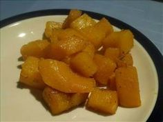 Braised Butternut Squash With Garlic