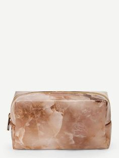 Marble Pattern Makeup Bag - Sic Tranist Gloriaa