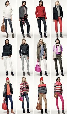 How to wear cropped pants in winter.