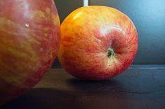 Lachsfilet mit Zucchini-Apfelsaft -Sauce  Leichte, fruchtige Sauce zum Lachs, die gleich schon die Gemüsebeilage ist.