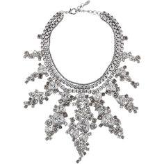ON AURA TOUT VU Patina Necklace - Black ($1,560) ❤ liked on Polyvore