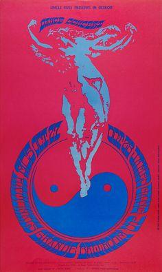 MC5 (October 27-28 1967 at Grande Ballroom, SF). Artist Gary Grimshaw