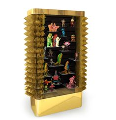 'collector's cabinet' by maurizio galante+tal lancman for cerruti baleri