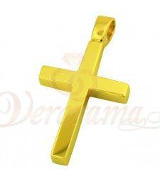 Σταυρός ανδρικός χρυσός Κ14 ST12_010 Symbols, Letters, Letter, Lettering, Glyphs, Calligraphy, Icons