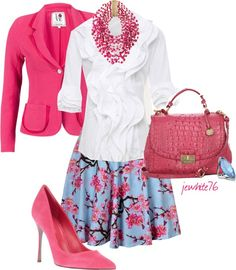 """""""Cherry Blossoms in Spring"""" by jewhite76 on Polyvore"""