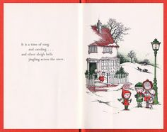 The Art of Children's Picture Books: Christmas Is A Time of Giving, Joan Walsh Anglund