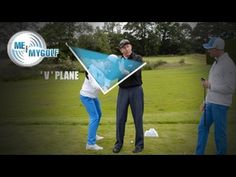 Fixing an Over-the-Top Golf Swing : Drill for Correcting an Over the Top Golf Swing - YouTube