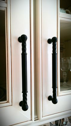 cabinet pulls...in brushed nickel