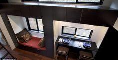 14 besten mini haus bilder auf pinterest stadthaus hnlich aussehen und aussen. Black Bedroom Furniture Sets. Home Design Ideas