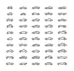 簡化線 汽車