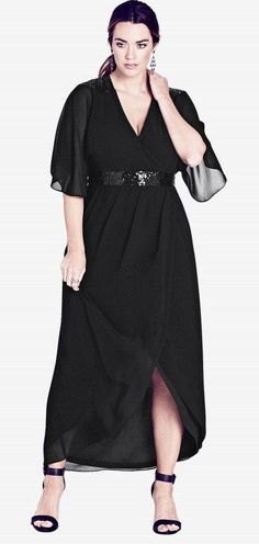 1e32462fcfe 30 Plus Size Summer Wedding Guest Dresses  with Sleeves
