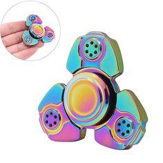 Alloy Hand Spinner Ceramic Ball Bearing Fidget Focus EDC Toy for Kids Adults