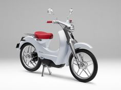 The Honda EV-Cub Concept is an electric short-distance commuter that was first introduced in 2009 at the Tokyo Motor Show