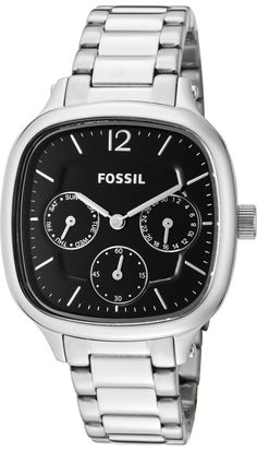 #Fossil #Watch , Fossil Delicate Stainless Steel Watch ES2854